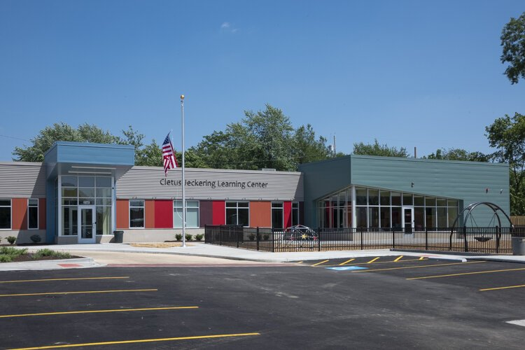 Cletus Jeckering Learning Center is open for students at St. Adalbert Catholic School in Cleveland's Fairfax neighborhood.