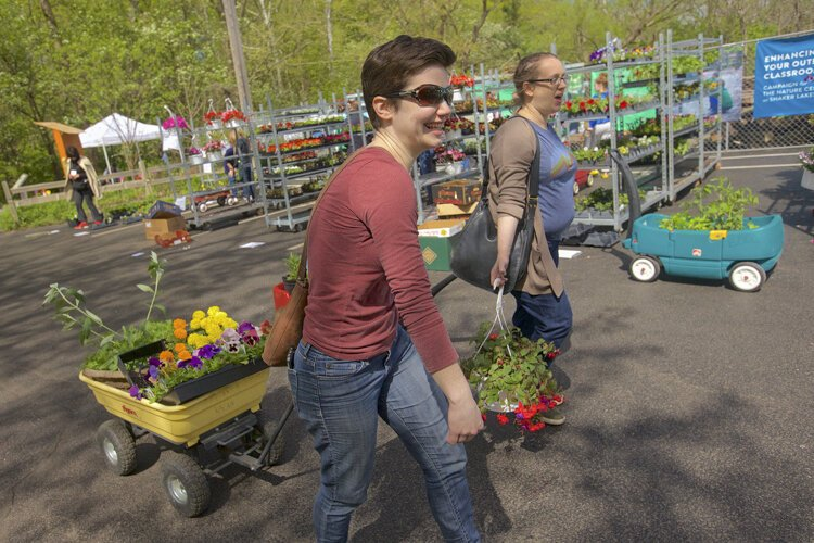 This year, the COVID-19 pandemic is interfering with the 28th annual plant sale, which features the region's largest selection of hard-to-find native plants, perennials, and annuals.