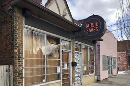 The Cleveland Rocks Shop soon will replace the Music Saves record store, which closed in 2017.