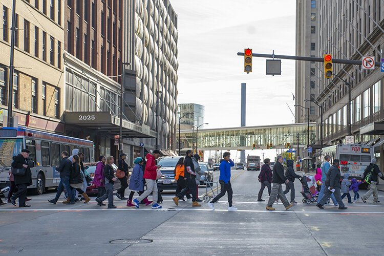 Today, downtown Cleveland is bursting with life and a whole lot of people who call it home.