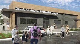The Cleveland Animal Protective League renovations will add about 9,000 square feet to the 30,000-square-foot facility.