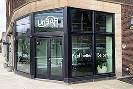 The UnBAR Cafe opened Jan. 20 in Cleveland's Larchmere business district.