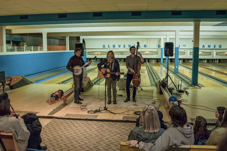 "This ""Big Lebowski""-themed show was right up the alley for Sofar Sounds Cleveland, complete with the Thor Platter Trio at The Nash."