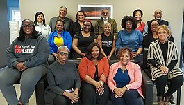 The inaugural class of therapists, clergy members, and parents who will comprise the Our Wellness Network (OWN).