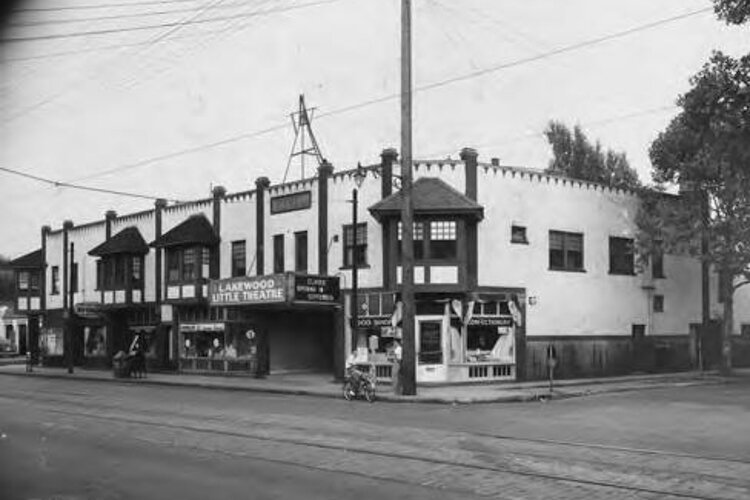 The Lakewood Little Theatre in 1939, on the corner of Detroit and Wayne avenues in Lakewood, part of the Beck Center today. Previously, it was the Lucier Theatre, from 1926 to 1930.