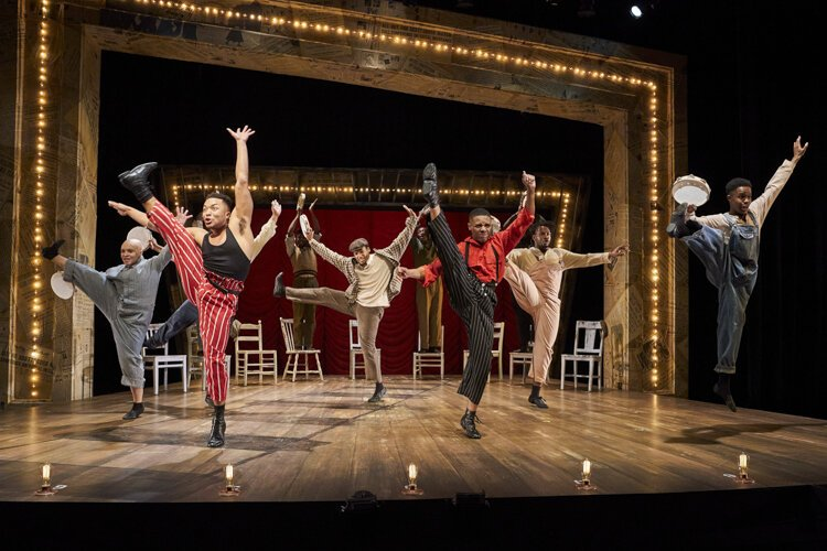 Scottsboro Boys at the Beck Center for the Arts