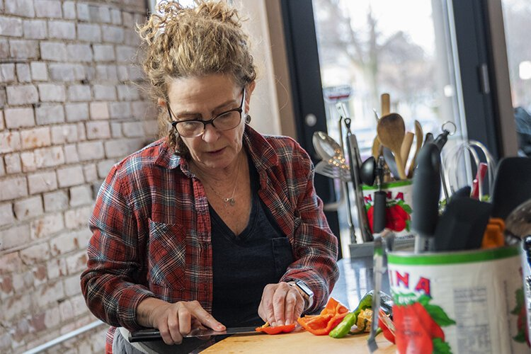 Karen Small, chef and owner of The Flying Fig