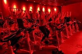 CycleBar provides invigorating workouts on stationary bikes are set to upbeat music in Beachwood.