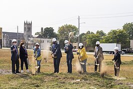 NRP Group Breaks Ground on 5115 at The Rising, a multifamily property in Cleveland's Broadway-Slavic Village Neighborhood.