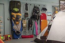The Cleveland Outpost sells a mix of 80% used equipment and 20% new gear.