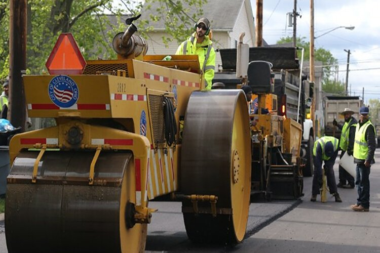 Cuyahoga County Council approved a contribution of $7.5 million across six road repair projects in 2021.