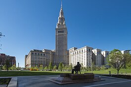The Terminal Tower in Public Square