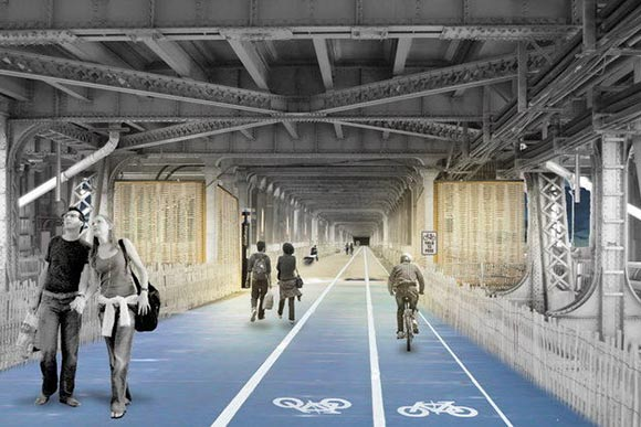 Detroit-Superior Bridge rendering
