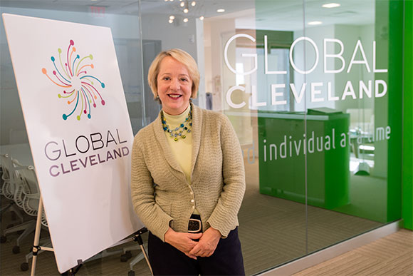 Joy Roller, president of Global Cleveland