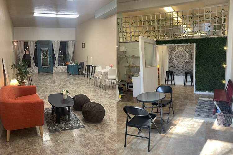 Events will take place within Bloom Social Co.'s physical space, an approximately 800-square-foot former storefront at 13439 Detroit Ave.