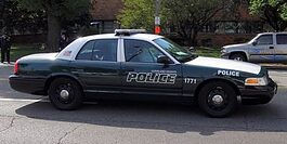 cleveland heights police car