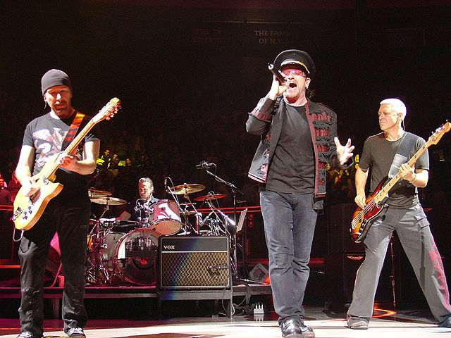 U2 at Madison Square Garden in 2005