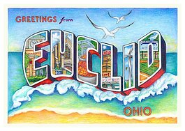 Greetings from Euclid mural