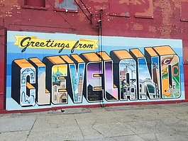 Graffiti Heart - Greetings from Cleveland