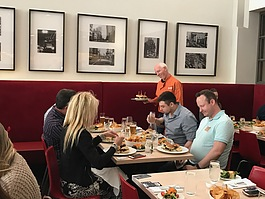 Zack Bruell serves his take on the blended burger