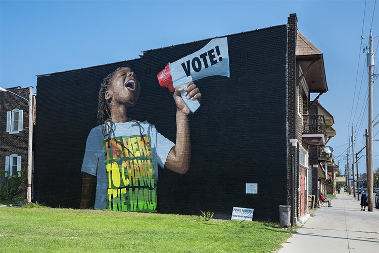 robinson williams  vote mural 05.'