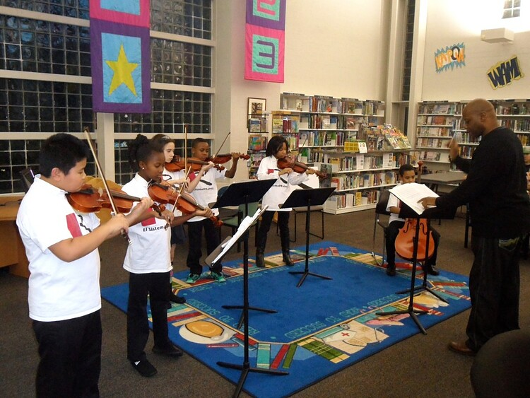 El Sistema program at Rainey Institute